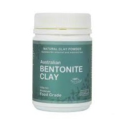 AUSTRALIAN BENTONITE CLAY FOOD GRADE 250G