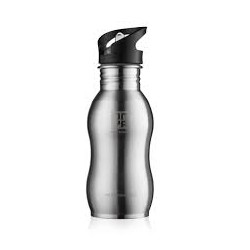 ONYA REUSABLE STAINLESS STEEL WATER BOTTLE STAINLESS SILVER 500ML