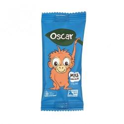 THE CHOCOLATE YOGI OSCAR ORANGUTANG DAIRY FREE MYLK CHOCOLATE BAR 15G