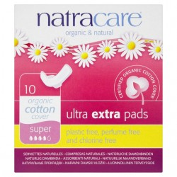 NATRACARE ULTRA EXTRA PADS SUPER 10PK
