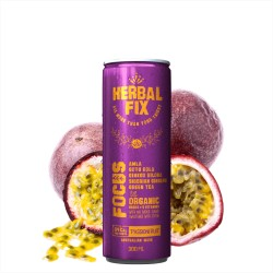 HERBAL FIX FOCUS PASSIONFRUIT DRINK 300ML