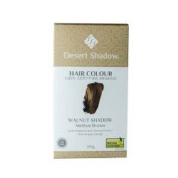 DESERT SHADOW HAIR COLOUR WALNUT SHADOW MEDIUM BROWN 100G
