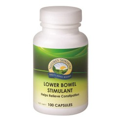 NATURES SUNSHINE LOWER BOWEL STIMULANT 100 CAPSULES