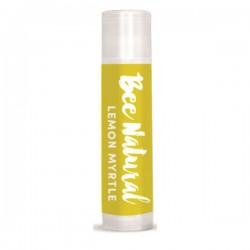 BEE NATURAL LEMON MYRTLE LIP BALM 5ML