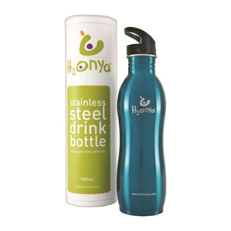 H2ONYA STAINLESS BOTTLE 1L