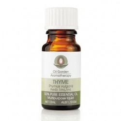 OIL GARDEN AROMATHERAPY THYME OIL 12ML