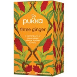PUKKA THREE GINGER TEA 20 BAGS 36G