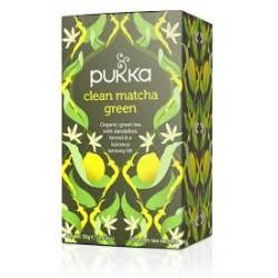 PUKKA CLEAN MATCHA GREEN 20 BAGS 30G
