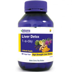 BLOOMS LIVER DETOX 1 A DAY 60 VEGE CAPSULES