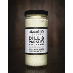 ROZAS GOURMET DILL PARSLEY MAYONAISE 240ML