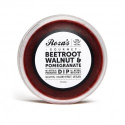 ROZA'S GOURMET BEETROOT WALNUT & POMEGRANATE DIP 160G