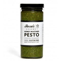 ROZA'S GOURMET HONEY MUSTARD PESTO 240ML