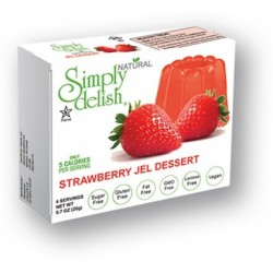 SIMPLY DELISH STRAWBERRY JEL DESSERT 20G