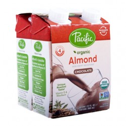 PACIFIC ORGANIC ALMOND MILK CHOCOLATE 4 X 240ML