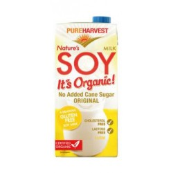 PURE HARVEST SOY MILK 1L