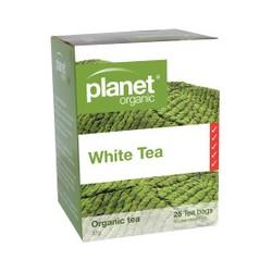 PLANET ORGANIC WHITE TEA 25 BAGS