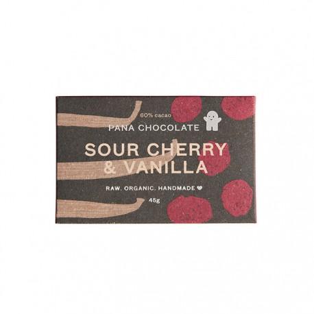 PANA CHOCOLATE SOUR CHERRY & VANILLA 45G