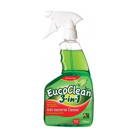EUCOCLEAN 3-IN-1 ANTIBACTERIAL CLEANER 750ML
