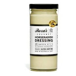 ROZAS HORSERADISH DRESSING 240ML REFRIGERATED