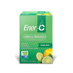ENER C LEMON LIME 12 SACHETS 111.6G