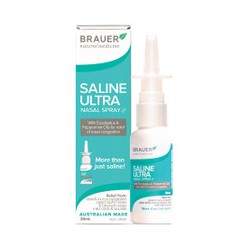 BRAUER SALINE ULTRA NASAL SPRAY 30ML